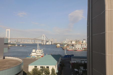 minato: the city view of Minato, tokyo, japan  2016 Editorial