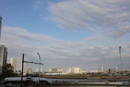 kanagawa: the  view of YOKOHAMA at KANAGAWA japan