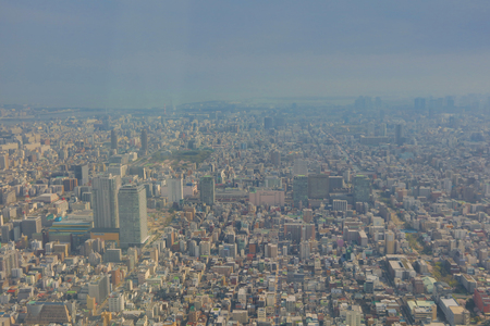 tallest bridge: Tokyo city view from Tokyo Sky Tree at 2016