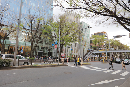 omotesando: Omote Sando hill is a mall famous for its fashionable products. Editorial
