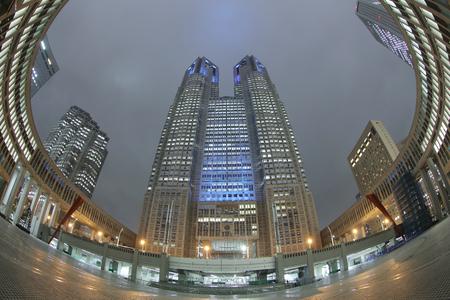 metropolitan: Tokyo Metropolitan Government Office Building, Nishi-Shinjuku, Tokyo