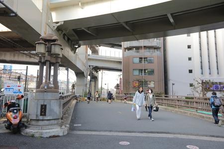 schlagbaum: Close up �berlappten Autobahn in Yokohama unter Himmel Editorial