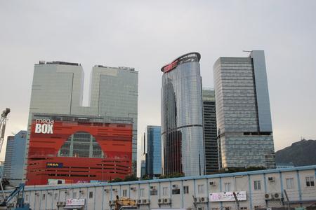 kowloon: the kowloon bay hong kong 2016 Editorial