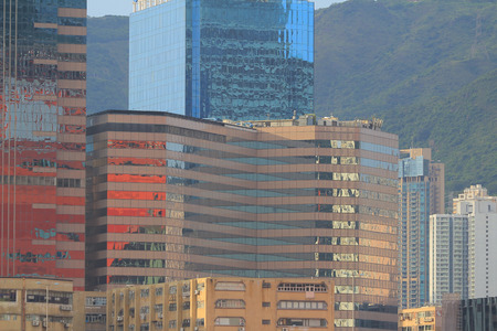 administratively: the Kwun Tong business area 2016 Stock Photo