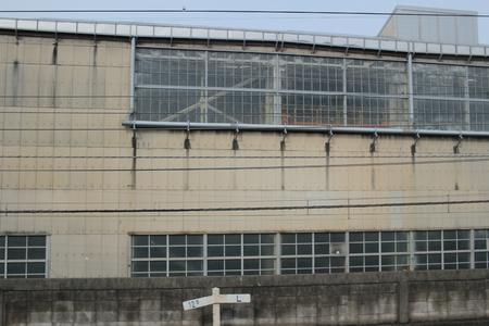 depot: the train depot at Omiya japan Editorial