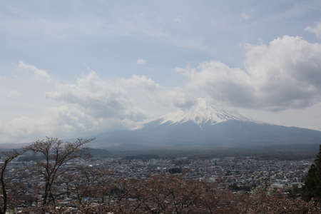 sengen: Fuji Mountain is one of the most famous tourist