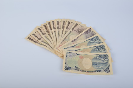 one hundred dollars: the bank note of Japan dollar
