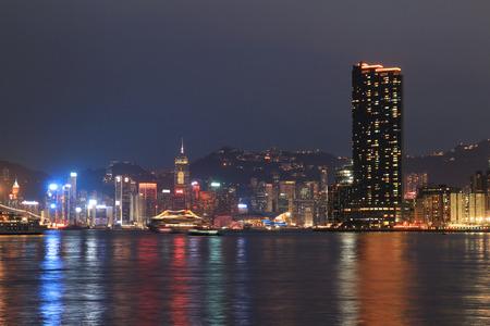 coast at the kowloon bay night 2016