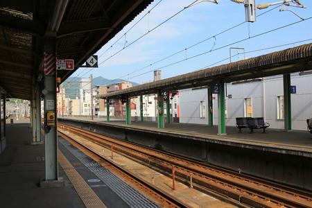 historical reflections: the Mihara station at 2016 japan