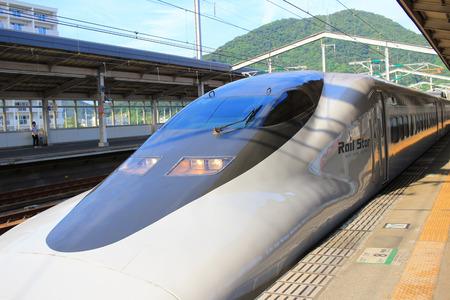 The 700 Series train at japan 2016 Editorial