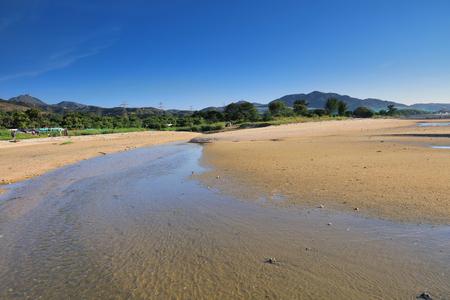 during low tide atpak lai beach 2016