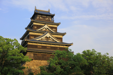 donjon: Donjon of Hiroshima, hiroshima castle 2016