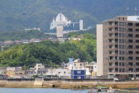 hiroshima: Miyajimaguchi Town, Hiroshima, Japan 2016 Editorial