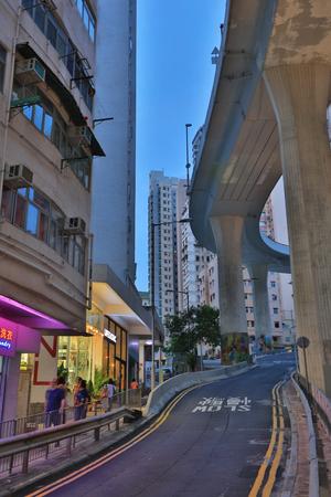 rd: Shek Tong Tsui  Hill Rd, hong kong