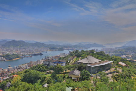 a view from Senkoji  of Onomichi