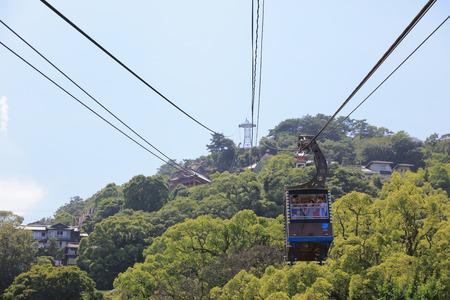 ropeway: the Senkoji Ropeway at japan 2016 Editorial