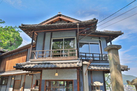 the Old Private House at onomichi