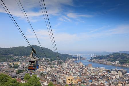the Senkoji Ropeway at  Onomichi