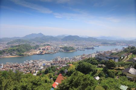 The Town Of Onomichi at Hiroshima