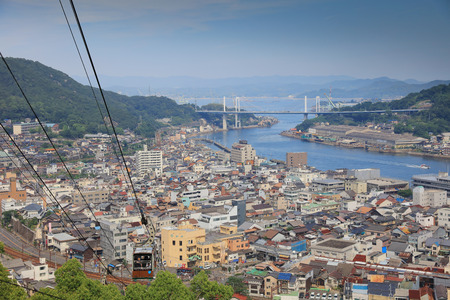 ropeway: the Senkoji Ropeway at  Onomichi