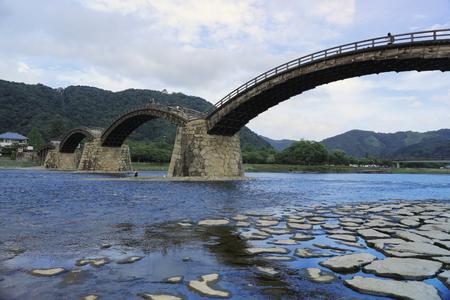 hiroshima: Kintaikyo Bridge in Iwakuni, Hiroshima, Japan.