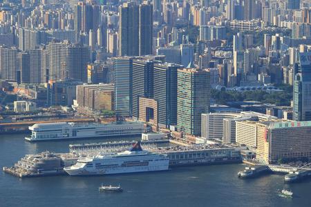 kowloon: the Kowloon Peninsula in Hong Kong Editorial
