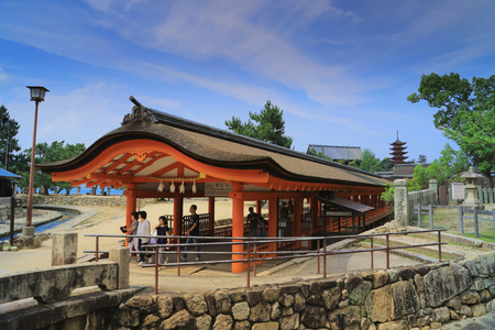 Itsukushima is one of the most important and sacred Shinto shrine in Japan.