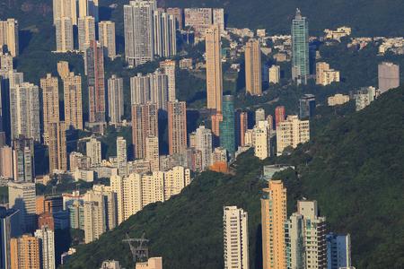 executive apartment: Executive Apartments at Victoria Peak in Hong Kong. Editorial
