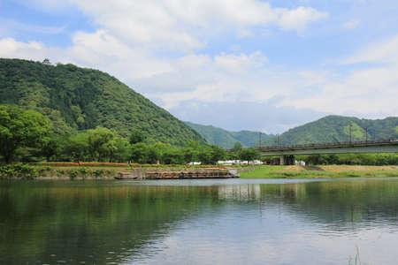 the Nishiki River at japan 2016