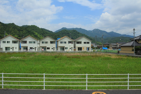 the country side of the Iwakuni bewteen Hiroshima