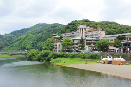 the Riverside Of The Nishiki River
