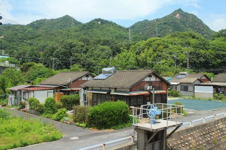 the country side of the Iwakuni bewteen Hiroshima