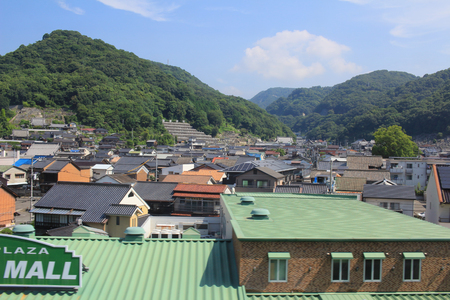 feild: the Hiroshima prefecture, the view from the train window Editorial