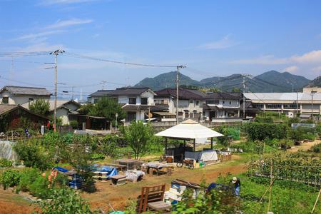 hiroshima: the view from the train window, HIROSHIMA