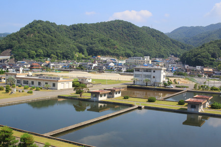 feild: town with traditional architecture is in Hiroshima prefecture