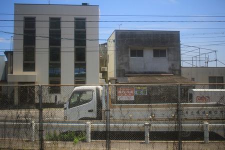 sanyo: the train view of sanyo main line