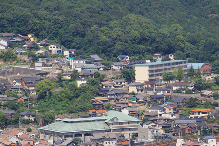 tilt views: the Onomichi is a city-name in Hiroshima Prefecture