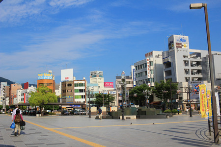 the street view of  Mihara japan