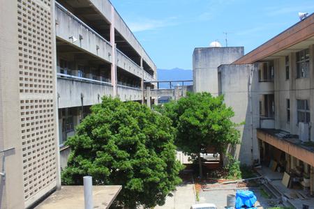 hiroshima: the train view of Hiroshima  district, Stock Photo