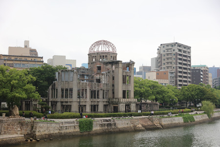 atomic bomb: The Atomic Bomb Dome at 2016