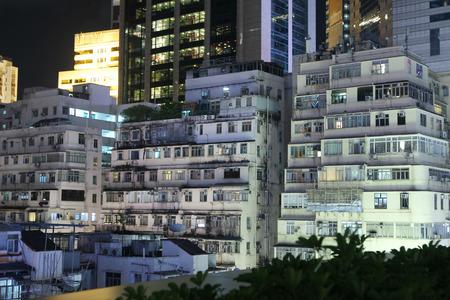 63752640 altes gebude und modernes gebude an der causeway bay hong kong