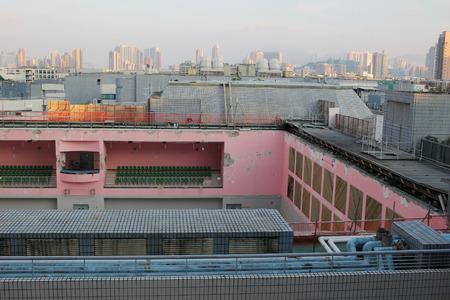 derrumbe: el colapso del techo en la City University de Hong Kong