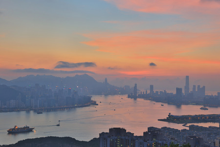 from black hill view of hong kong 2016