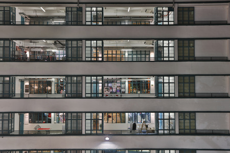 It has been revitalized as a hub for design and creative industries 스톡 콘텐츠
