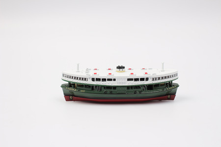 the Miniature star ferry of toys.
