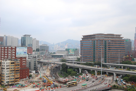 the Crossroad in the city of Hong Kong.