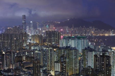 The city is one of the most densely populated in the world.