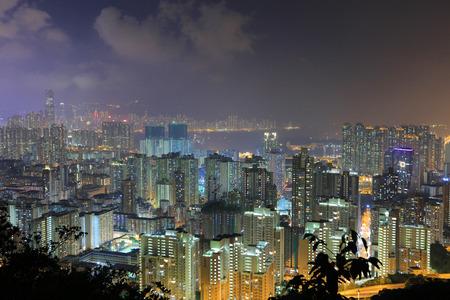 the Kowloon, Hong Kong Skyline 2016