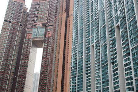 kowloon: apartment at  West Kowloon, Hong Kong 2016 Stock Photo