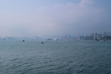 the Air pollution has become a huge problem in Hong Kong.